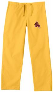 Arizona State University Gold Classic Scrub Pants