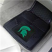 Fan Mats Michigan State Univ Vinyl Car Mats (set)