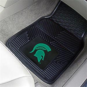 Fan Mats Michigan State Univ Vinyl Car Mats (set)