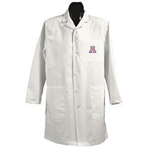 University of Arizona White Long Labcoats