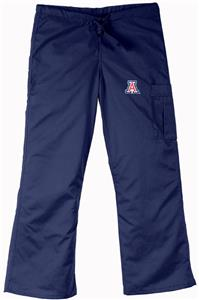 University of Arizona Navy Cargo Scrub Pants