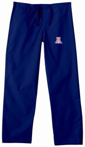 University of Arizona Navy Classic Scrub Pants