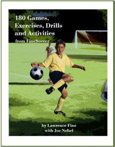 180 Soccer Games, Exercises & Drills (BOOK)
