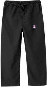 University of Arizona Kid's Black Scrub Pants
