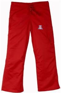 University of Arizona Red Cargo Scrub Pants