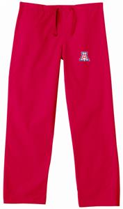 University of Arizona Red Classic Scrub Pants