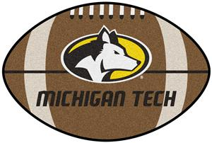 Fan Mats Michigan Tech Football Mat
