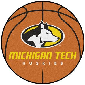 Fan Mats Michigan Tech Basketball Mat
