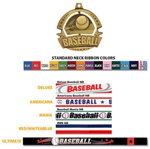 Hasty Awards Spinner Baseball Medals