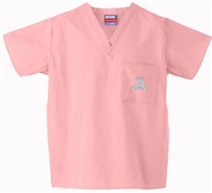 University of Arizona Pink Classic Scrub Tops