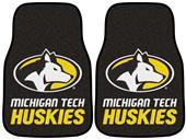 Fan Mats Michigan Tech Carpet Car Mats (set)