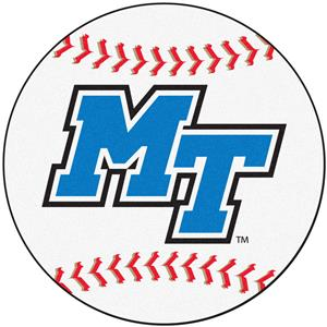 Fan Mats Middle Tennessee State Baseball Mat