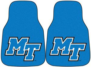 Fan Mats Middle Tennessee State Carpet Car Mats
