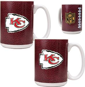 NFL Kansas City Chiefs Gameball Mug (Set of 2)