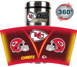 NFL Kansas City Chiefs Tumbler (Logo & Team Name)