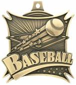 "Hasty Awards  2.5"" Xtreme Baseball Medals M-701"