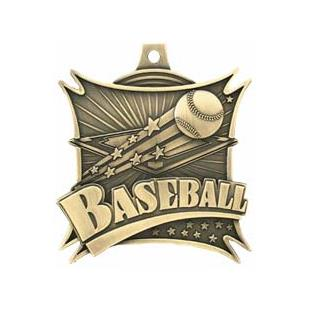 "Hasty Awards  2.5"" Xtreme Baseball Medals M-701"