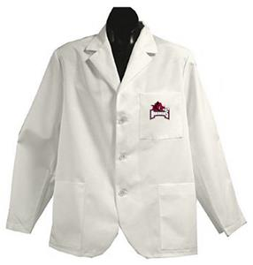 University of Arkansas White Short Labcoats