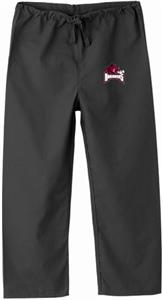 University of Arkansas Kid's Black Scrub Pants