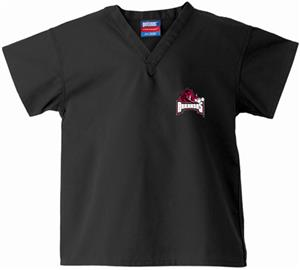 University of Arkansas Kid's Black Scrub Tops