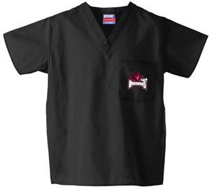 University of Arkansas Black Classic Scrub Tops