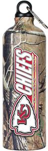 NFL Kansas City Chiefs 32oz RealTree Water Bottle