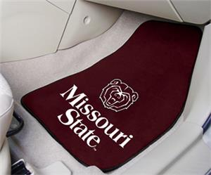 Fan Mats Missouri State Carpet Car Mats