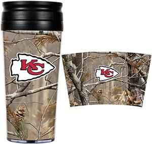 NFL Kansas City Chiefs 16oz Realtree Tumbler