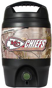 NFL Kansas City Chiefs 1 gal Realtree Tailgate Jug
