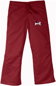 University of Arkansas Crimson Cargo Scrub Pants