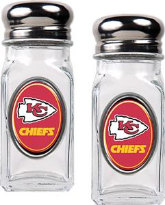 NFL Kansas City Chiefs Salt and Pepper Shaker Set