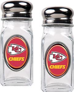 NFL Kansas City Chiefs Salt and Pepper Shaker Set