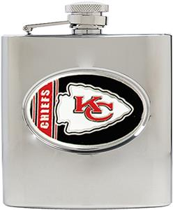 NFL Kansas City Chiefs 6oz Stainless Steel Flask