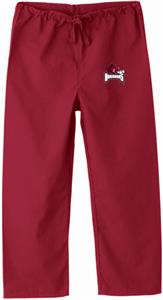 University of Arkansas Kid's Crimson Scrub Pants
