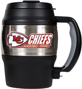 NFL Kansas City Chiefs Mini Jug w/Bottle Opener