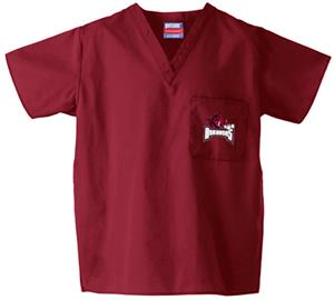 University of Arkansas Crimson Classic Scrub Tops