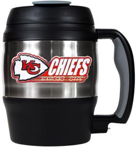 NFL Kansas City Chiefs 52oz Macho Travel Mug