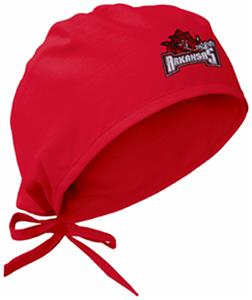University of Arkansas Red Surgical Caps
