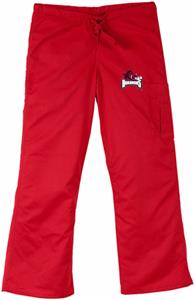University of Arkansas Red Cargo Scrub Pants