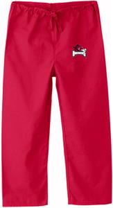 University of Arkansas Kid's Red Scrub Pants