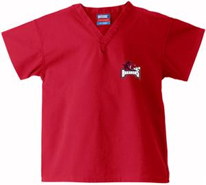 University of Arkansas Kid's Red Scrub Tops