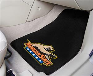 Fan Mats Morgan State University Carpet Car Mat
