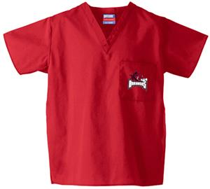 University of Arkansas Red Classic Scrub Tops
