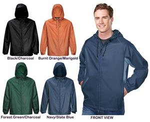 TRI MOUNTAIN Jepson Packable Hooded Shell Jacket