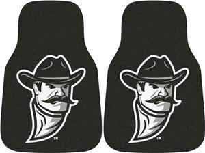 Fan Mats New Mexico St. Carpet Car Mats (set)