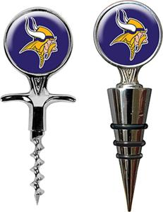 NFL Minnesota Vikings Cork Screw & Bottle Topper