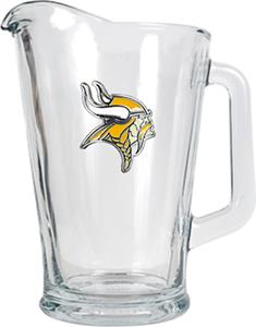 NFL Minnesota Vikings 1/2 Gallon Glass Pitcher