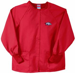 Univ of Arkansas Razorbacks Red Nursing Jackets