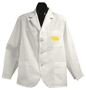 Arkansas Tech University White Short Labcoats