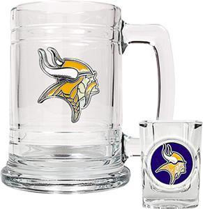 NFL Minnesota Vikings Boilermaker Gift Set